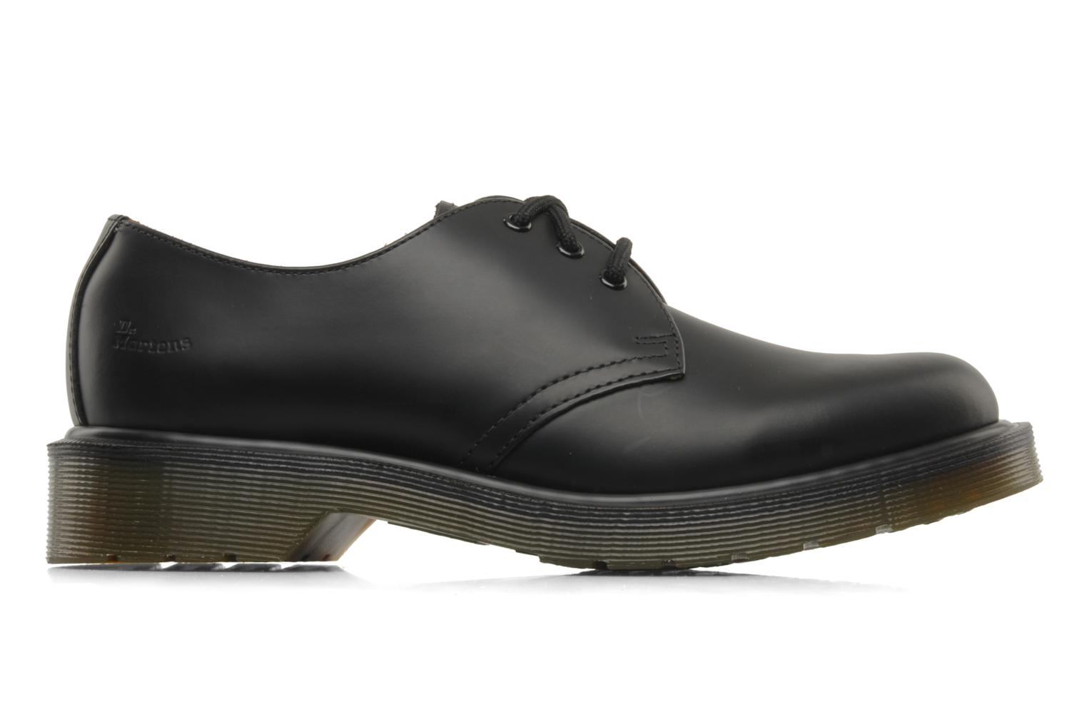Lace-up shoes DR. Martens 1461 w Black back view